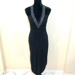 Studded Halter Evening Dress!